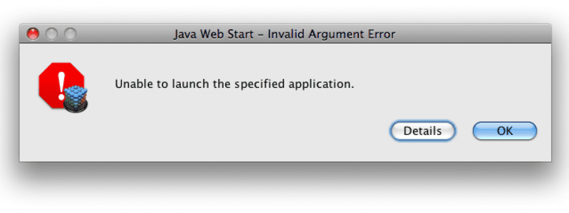 Unable to launch an application and SecurityException after Java 7 Update 51