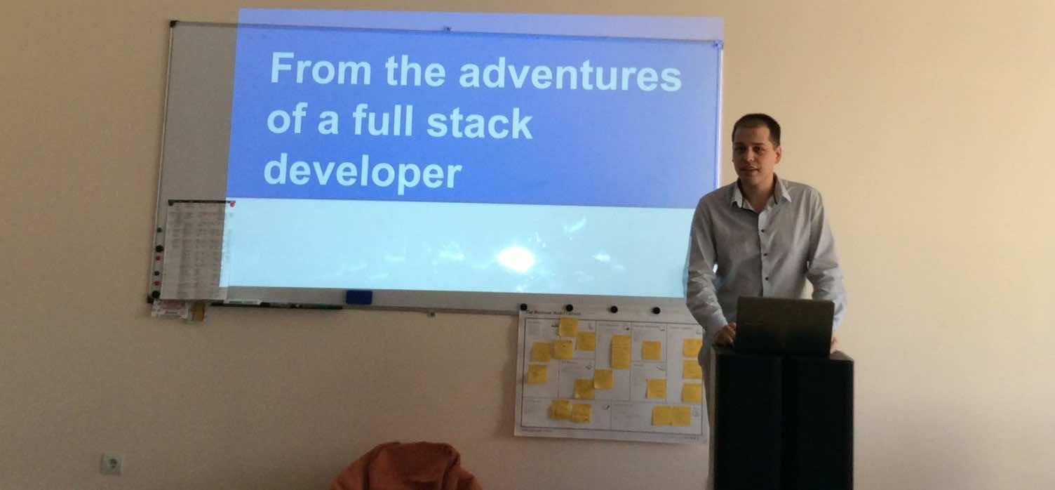 The Adventures of a Full Stack Developer