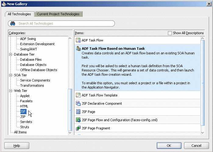 Oracle Fusion Middlewarea -  BPM Human Task