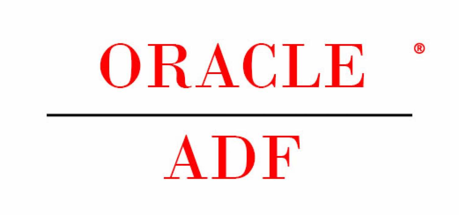 The List for Oracle ADF resources