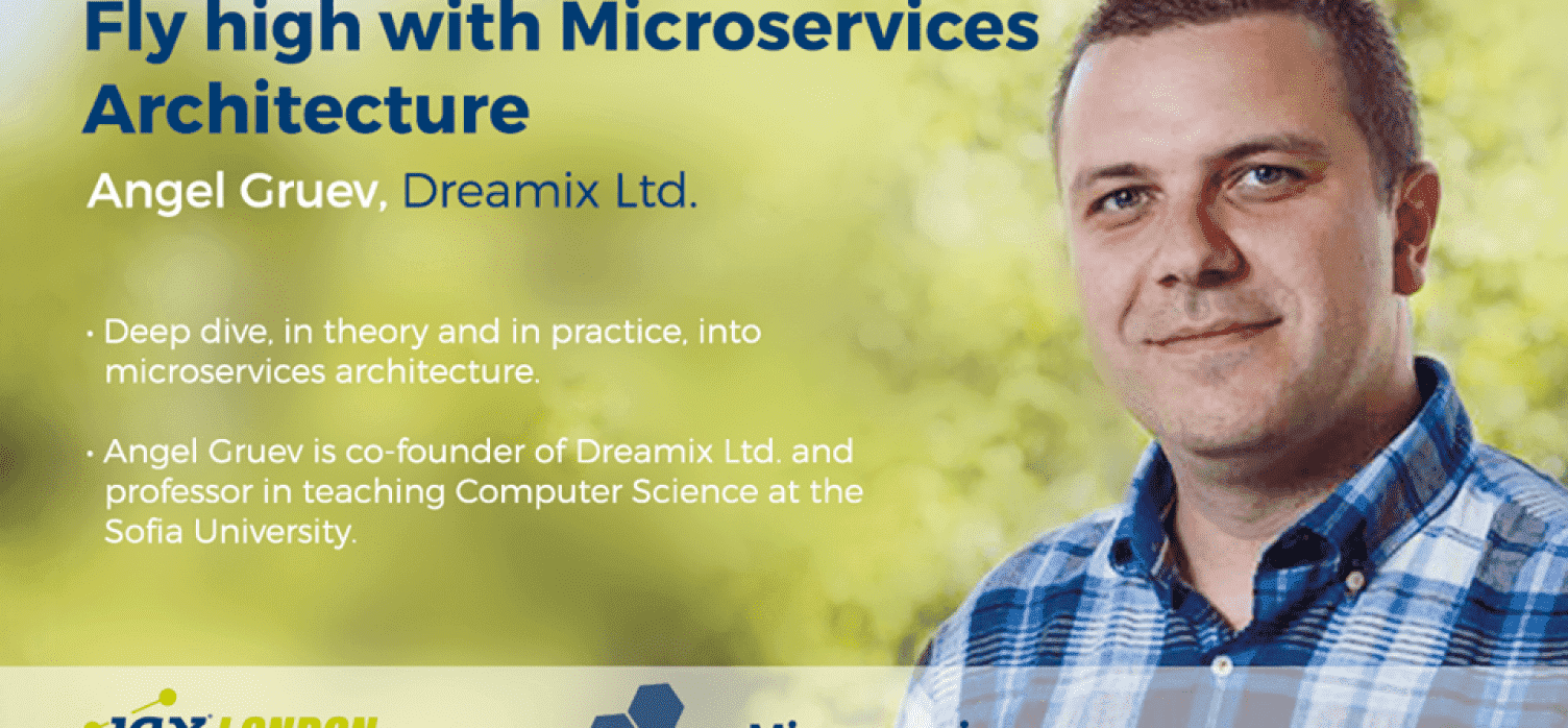 JAX London: Speaker Angel Gruev Helps You Fly with Microservices